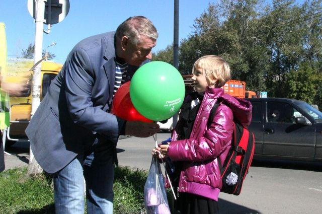 «Переходи на зеленый». За знание правил пешеходам раздадут воздушные шары