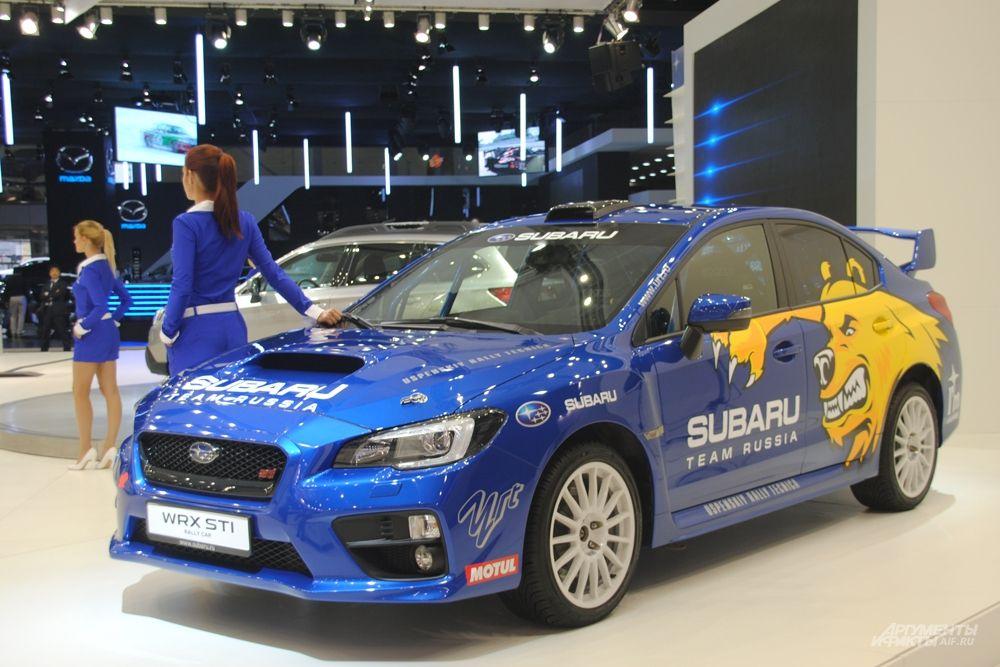 Subaru WRX STI будет представлен в России в кузове седан и с механической трансмиссией. Рекомендованная цена от 2 069 900 до 2 254 900 рублей в зависимости от комплектации.