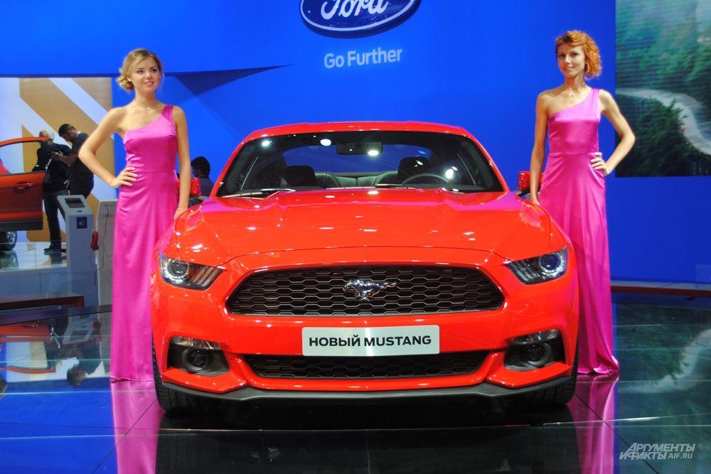 Шестой новинкой компании оказался новый Mustang, который впервые в своей истории станет доступен официально у российских дилеров.