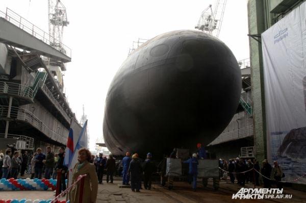 Подводная лодка стала третьей из шести субмарин проекта 636.3, сооруженных для Черноморского флота.