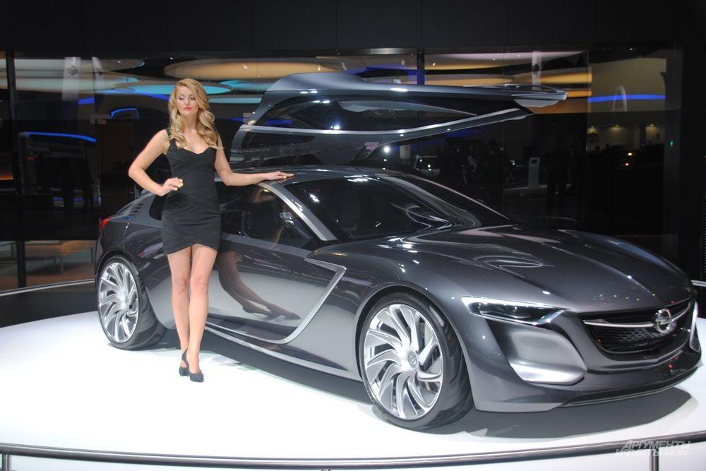 Opel приготовил самую загадочную премьеру на ММАС-2014.