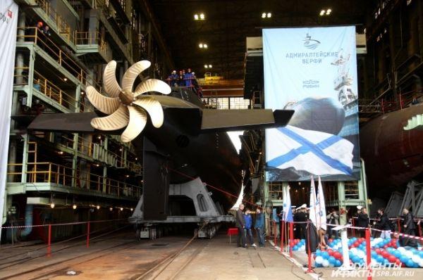 Дизель-электрические подводные лодки проекта 636.3 считаются одними из самых малошумных в мире.