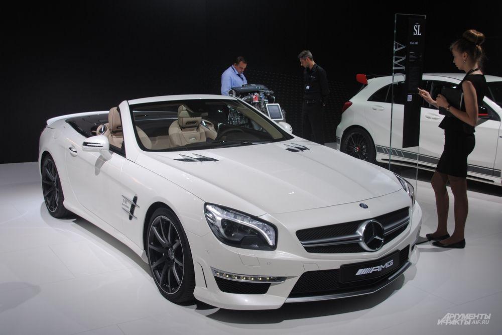 В рамках ММАС-2014 состоится мировая премьера самого быстрого автомобиля от Mercedes-Benz.
