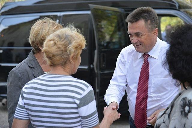Рабочая поездка главы региона в Ольгинский район.