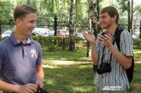Артём Петров (слева) и Илья Левицкий.