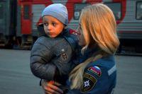175 детей прибыло в Иркутск с Украины.