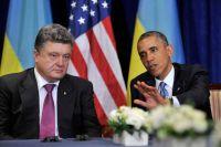 Барак Обама, Петр Порошенко