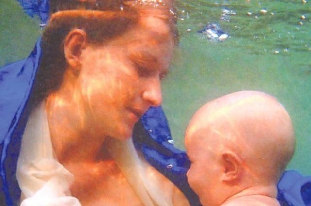 Мадонна под водой