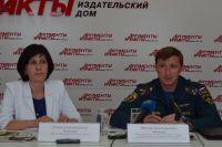 Елена Осипова и Виктор Пашков