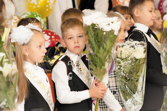 В школы региона придут более 22 тысяч первоклашек.