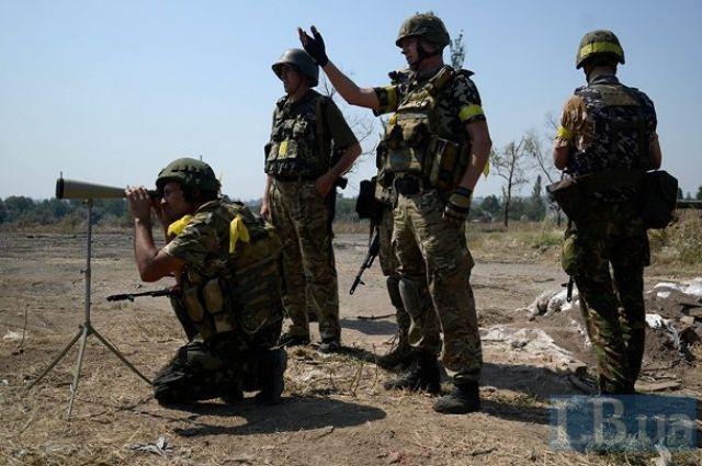 Бойцы добровольческого батальона
