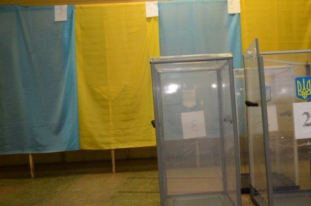 На избирательном участке