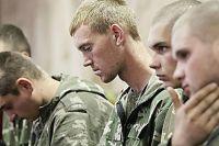 Задержанные десантники РФ
