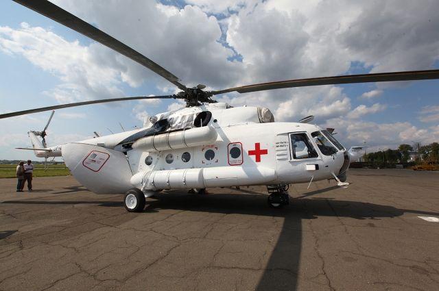 Модернизированный вертолет Ми8-МТВ1