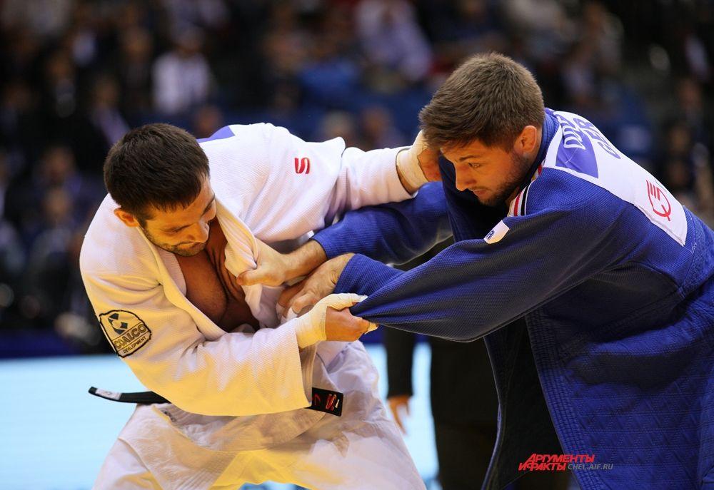 Кирилл Денисов с немецким спортсменом