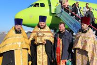 С ковчегом объехали вокруг Иркутска.