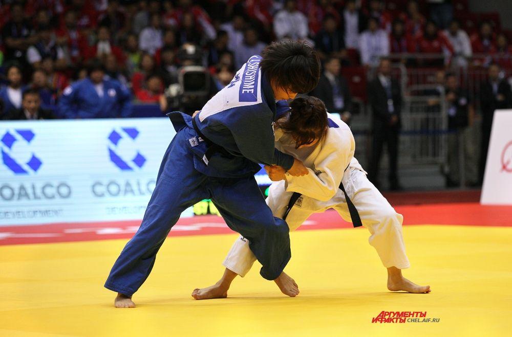 Россиянка Кузютина и спортсменка из Японии