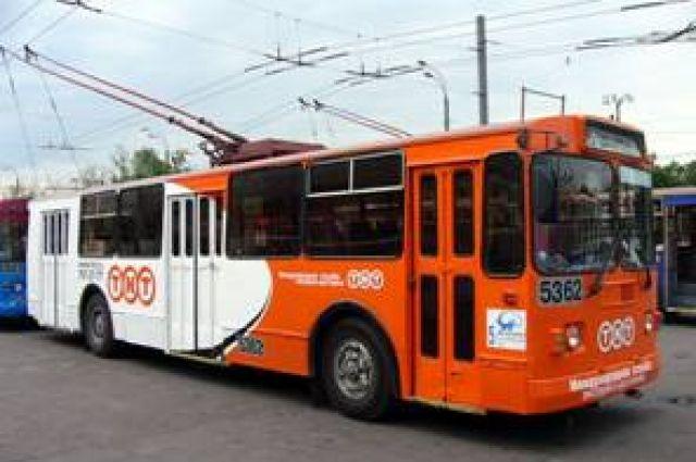 1 сентября троллейбусы во