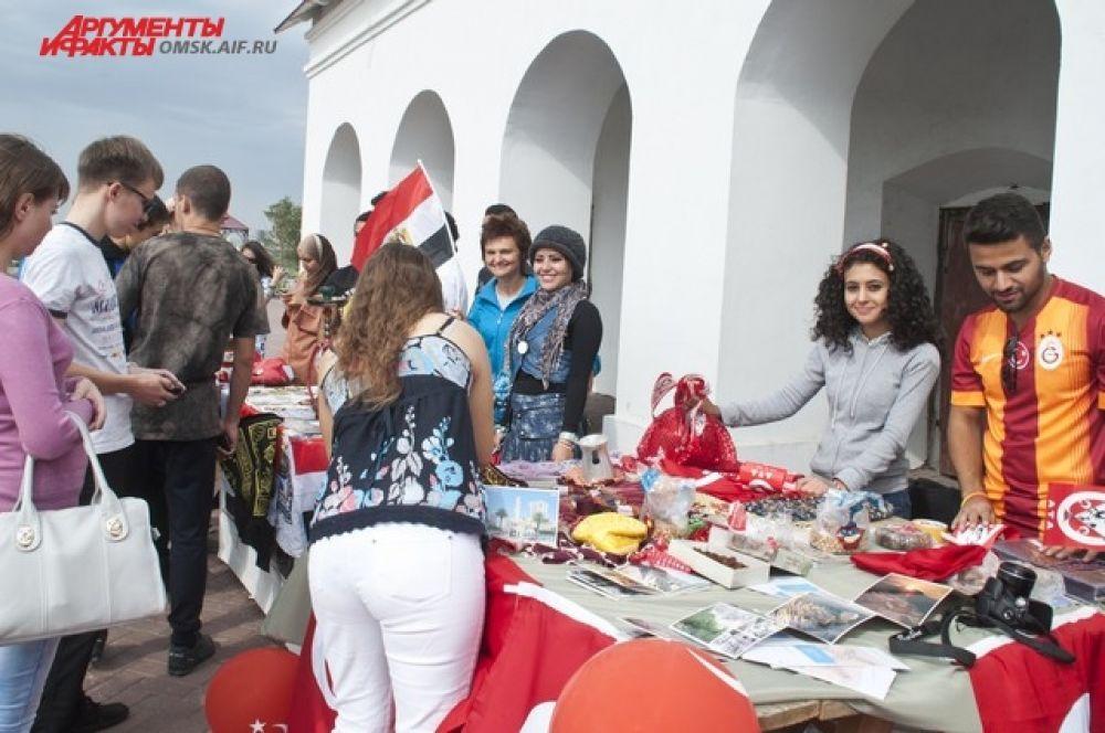 Международный фестиваль культур в Омске.