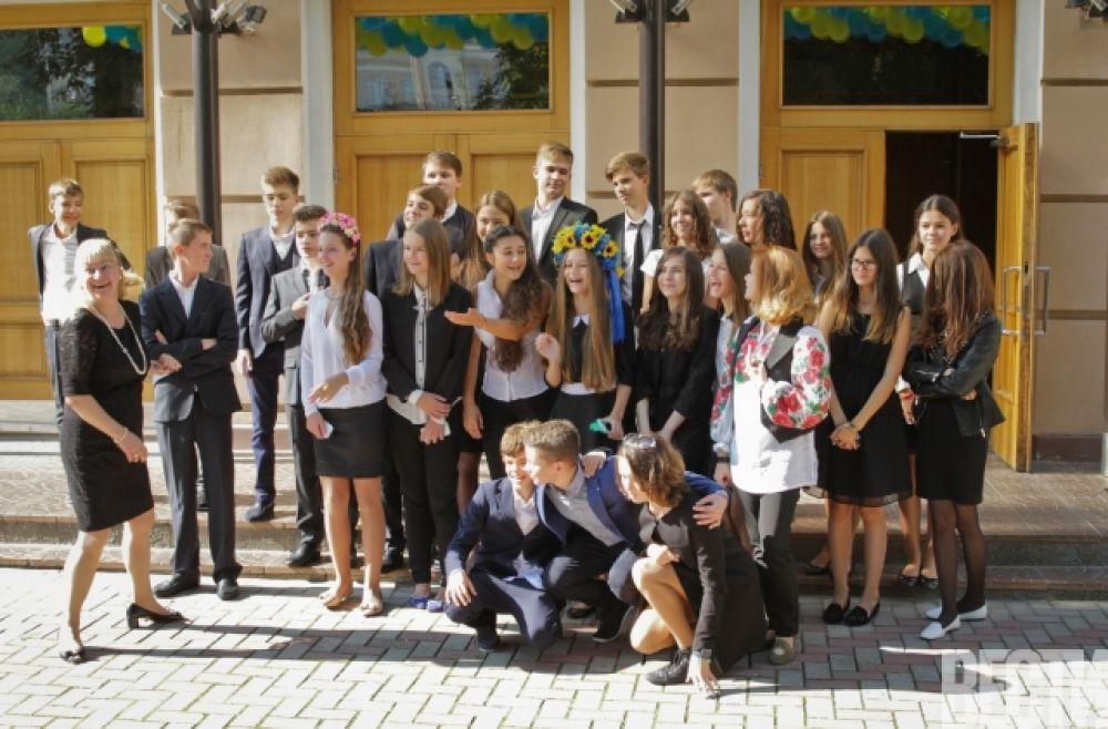 Дети Петра Порошенко 1-го сентября