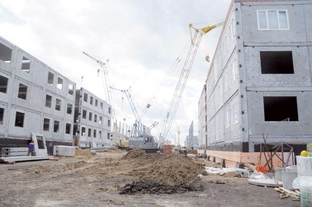 Дома в Рябиновке строят, вот только въедут ли туда жильцы...