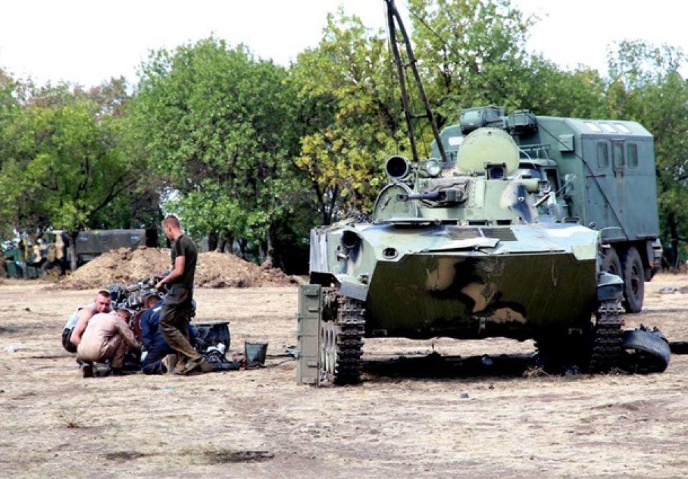 Силовики поставили в строй «трофейную» БМД десантников РФ
