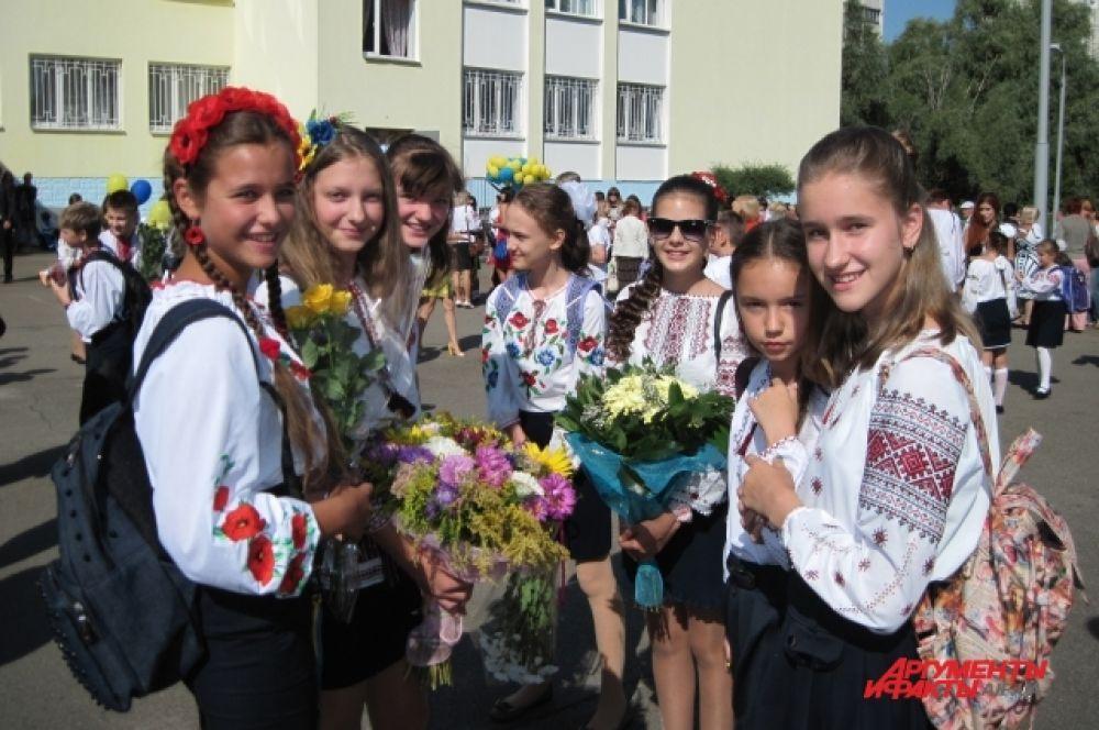 Праздник Первого звонка в Киеве