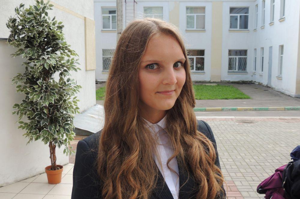 Для выпускницы Марии Сысуевой уже давно понятно: знания, полученные в школе, определяют жизненный выбор.