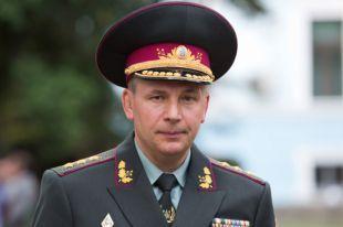 Министр обороны Украины генерал-полковник Валерий Гелетей.