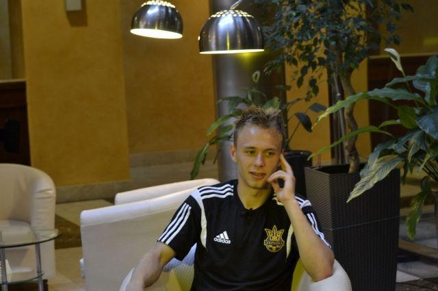 Сергей Болбат, полузащитник ФК «Металлист»