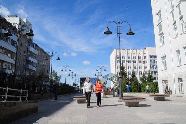 Открытие улицы Валиханова.