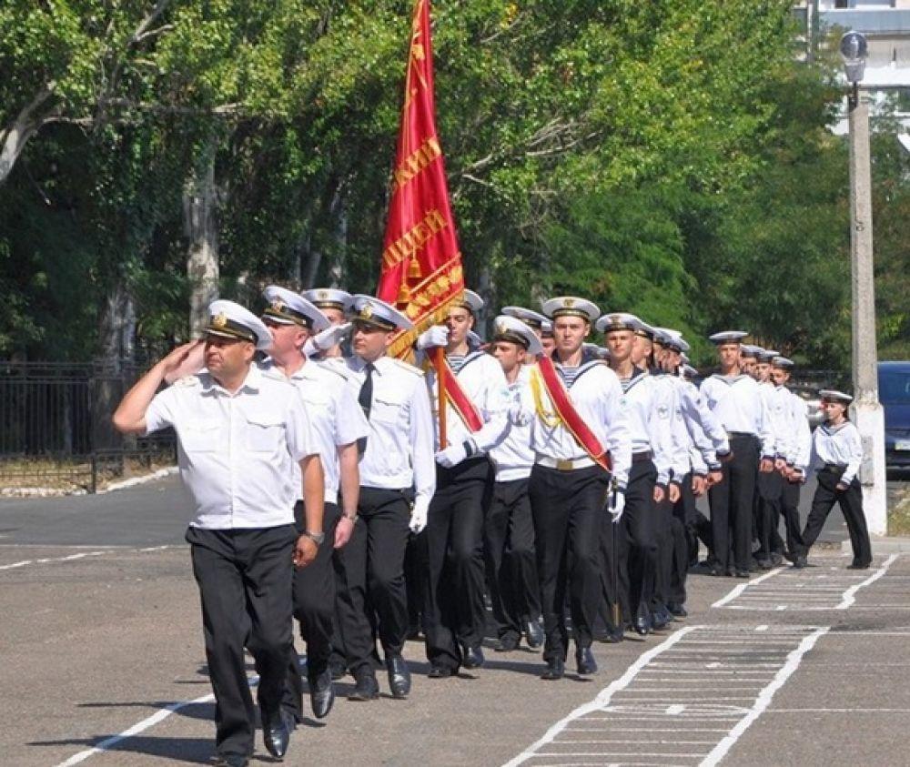 Первокурсники военно-морского лицея