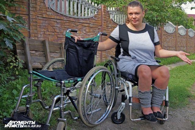 Татьяна Анашенко: «На бесплатной коляске ездить невозможно».