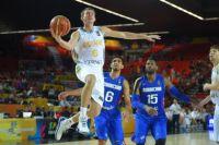 Баскетболист сборной Украины Александр Мишула