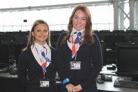Волонтёры помогали гостям Саммита АТЭС-2012.
