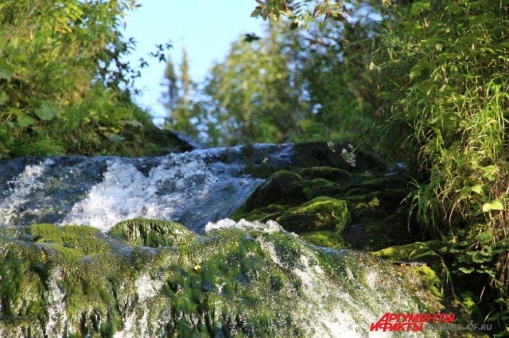 Алгуйские водопады.