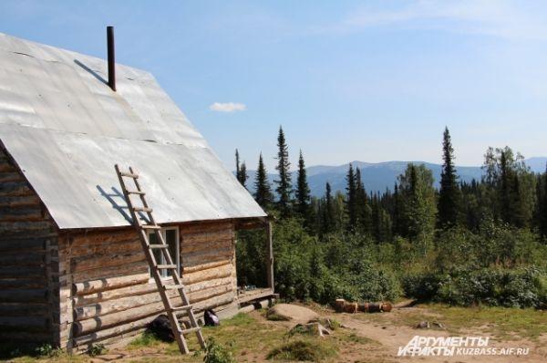 Приют Гридина, известного фотографа и путешественника.