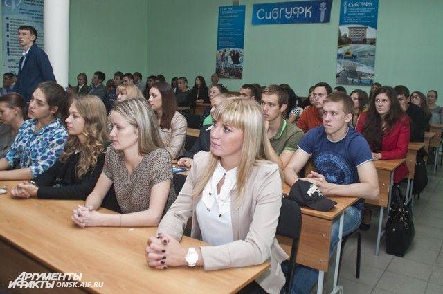 Студенты с интересом слушали министра спорта России Виталия Мутко.