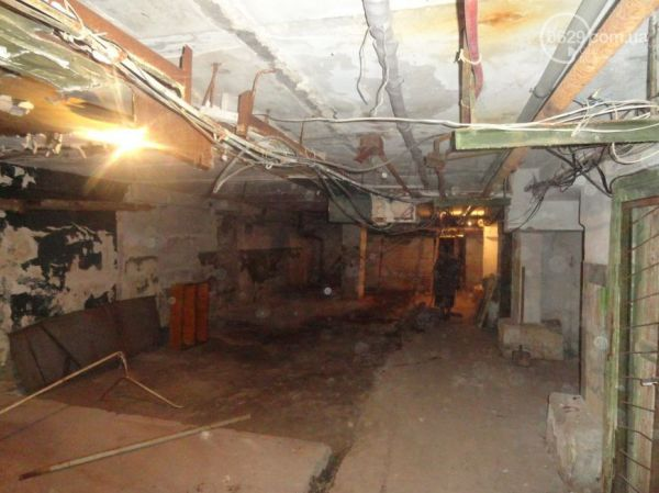 Бомбоубежища в Мариуполе