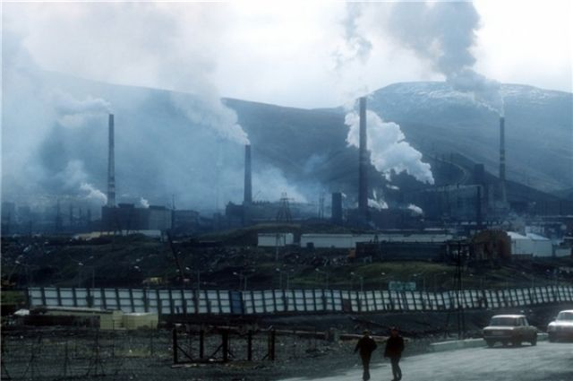 Росгидромет исключил Челябинск из списка городов с самым грязным воздухом