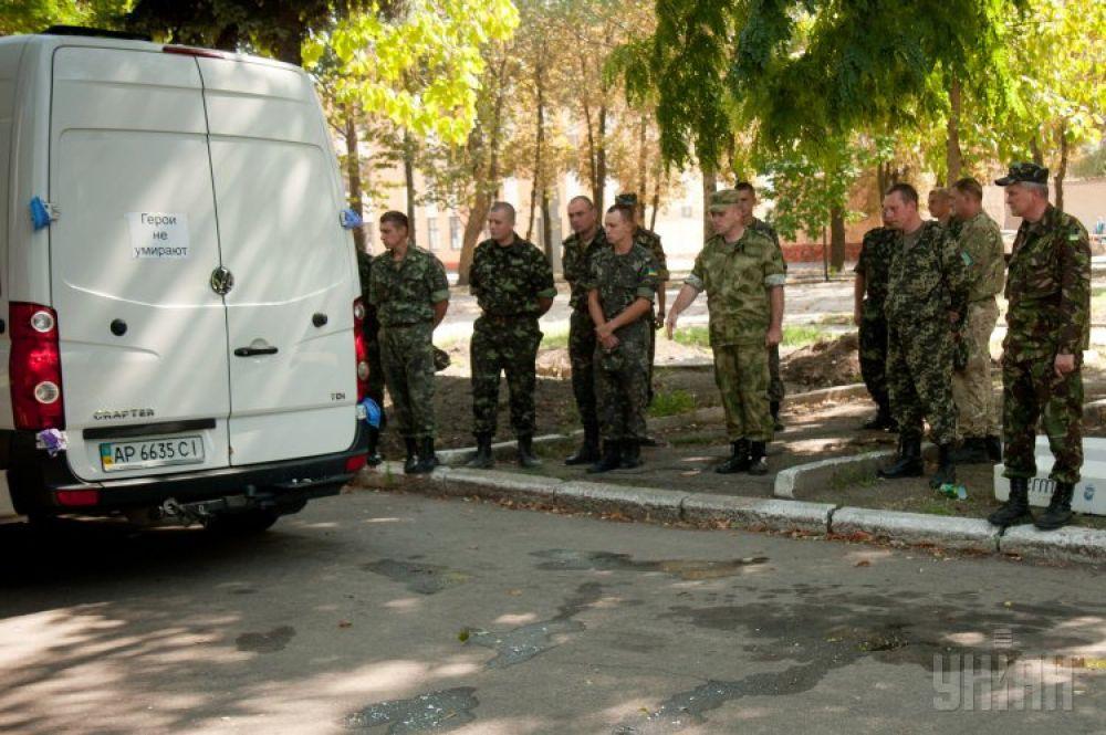 «Груз 200» прибыл в Запорожье из Донецкой области
