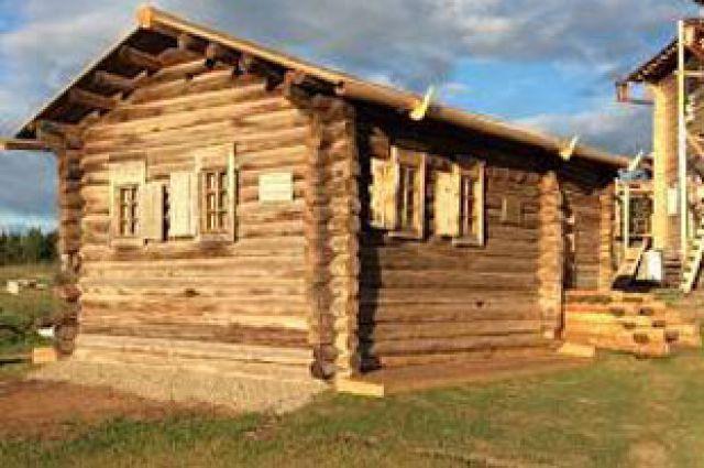 Отреставрированный дом святителя.