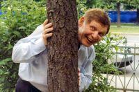 Певец Эдуард Хиль на одном из светских мероприятий в Санкт-Петербурге. 05.06.2012 г.