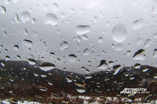 Дождь уходит из Приморья, но обещает вернуться.