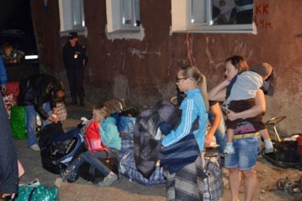 Для граждан Украины определены пункты временного размещения.