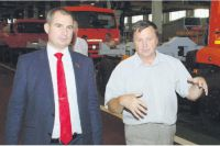 Максим Сурайкин (слева): «Регион-донор должен получать из центра намного больше - он сам заработал!»