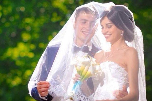 Артем Чечиков с женой Еленой.