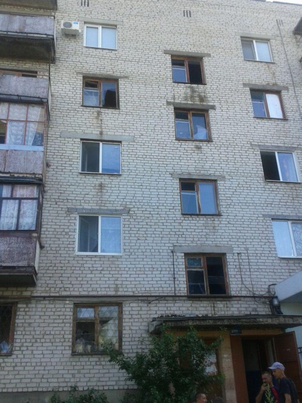 Обстрел Луганской области