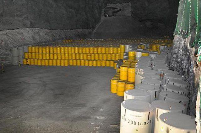 Здание газпрома на месте свалки с радиоактивными отходами