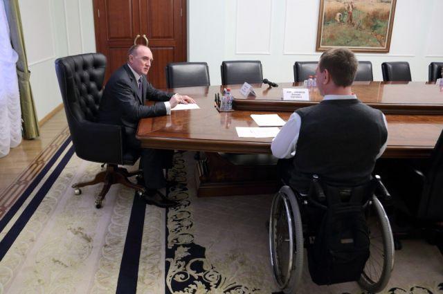 Дубровский распорядился ввести должность замгубернатора по делам инвалидов